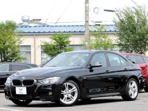 BMW 3シリーズ 318i Mスポーツ 禁煙 LEDヘッドライト 純正HDDナビ バックカメラ BT パワーシート アルカンターラシート 純正18AW DSRC インテリジェントセーフティー プリクラッシュセーフティ レーンチェンジ