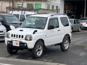 スズキ ジムニー XC 4WD ターボ キーレス CDオーディオ ETC ルーフレール 背面タイヤ ドアバイザー ABS ダブルエアバッグ エアコン パワーステアリング パワーウインドウ 16インチアルミ