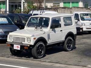 スズキ ジムニー ターボ 4WD 5速マニュアル CD エアコン フォグランプSJ30グリル 社外バンパー 社外テール ナルディステアリング 社外16インチアルミ 71前期