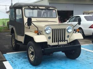 三菱 ジープ 最終生産記念車 4WD ディーゼル 4速マニュアル アルミ
