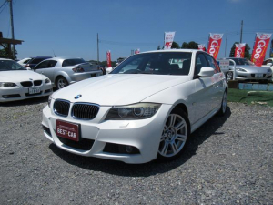 BMW 3シリーズ 325i Mスポーツパッケージ 純正HDDナビ 純正ミラー型ETC Mスポ17インチアルミ ディ-ラ―車 フロントパワーシート