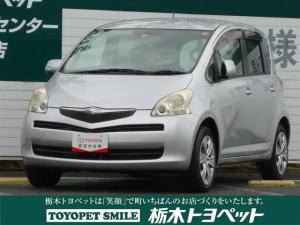 トヨタ ラクティス X ワンオーナー CD再生機能 モケット キーレスエントリー