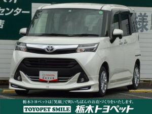 トヨタ タンク G メモリーナビ モケット ETC バックモニター スマートキー