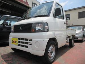三菱 ミニキャブトラック Vタイプ 5速マニュアル エアコン付 3ヶ月保証付