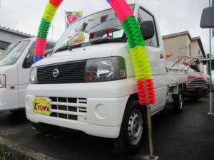 日産 クリッパートラック DX 4WD 5速マニュアル エアコン エアバック 3ヶ月保証付