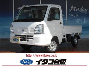 日産 NT100クリッパートラック DX 届出済未使用車 エアコン パワステ ABS