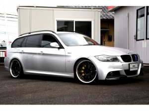 BMW 3シリーズ 325iツーリング Mスポーツパッケージ BMWPerformance仕様325TR Mスポーツ 前後Performanceブレーキシステム 19インチWORKグノーシス/TOYO PROXES フロントカーボンリップ ローダウンスポーツサス