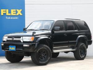 トヨタ ハイラックスサーフ SSR-X ワイド 2700ccガソリン SSR-X オールペイントブラック リフトUP済み ミッキートンプソンAW 新品タイヤ装着 LEDテールランプ 社外オーディオ