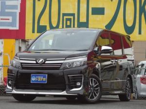トヨタ ヴォクシー ZS 煌II セーフティセンス 11インチナビ バックカメラ 後席モニター 両側電動 革調シートカバー