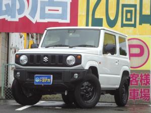 スズキ ジムニー XL セーフティサポート装着車 5速マニュアル 4WD 当店試乗車 8インチフルセグナビ シートヒーター キープッシュスタート セキュリティアラーム