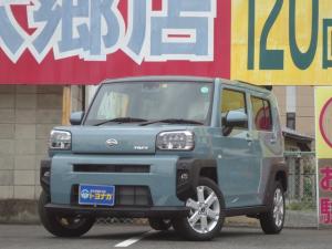 ダイハツ タフト G スマートアシスト フルセグSDナビ バックカメラ ガラスルーフ シートヒーター コーナーセンサー LEDヘッドライト セキュリティアラーム