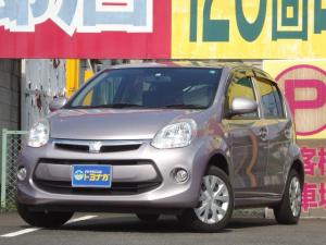 トヨタ パッソ 1.0X Lパッケージ・キリリ 地デジSDナビ バックカメラ キーフリーシステム HIDヘッドライト ベンチシート ダークガラス オートエアコン アイドリングストップ