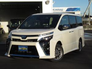 トヨタ ヴォクシー ハイブリッドZS 煌III 特別仕様車  LEDライト ワンタッチスイッチ付デュアルパワースライドドア(デュアルイージークローザー+挟み込み防止機能付)