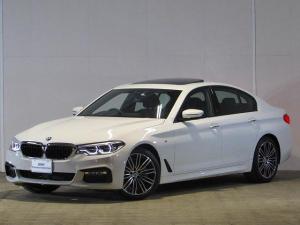 BMW 5シリーズ 523i Mスポーツ 認定中古車 ワンオーナー 禁煙車 パノラマガラスサンルーフ 純正HDDナビ アルカンタラクロス バックカメラ 障害物センサー インテリジェントセーフティー ETC ACC アダプティブLEDライト