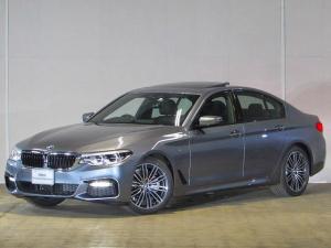 BMW 5シリーズ 523i Mスポーツ 認定中古車 ワンオーナー 禁煙車 純正HDDナビ タッチパネル DTV パノラマガラスサンルーフ アダプティブLEDヘッドライト アクティブクルーズコントロール インテリジェントセーフティー