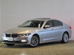 BMW 5シリーズ 523d ラグジュアリー 認定中古車 デモカー 禁煙車