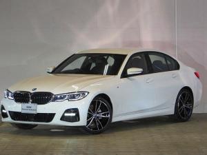 BMW 3シリーズ 320i Mスポーツ 認定中古車 ワンオーナー 禁煙車 純正HDDナビ ヘッドアップディスプレイ BMWレーザーライト ACC バックカメラ 障害物センサー 電動リアテールゲート 衝突軽減ブレーキ パーキングアシスト