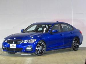 BMW 3シリーズ 320d xDrive Mスポーツ 認定中古車 ワンオーナー 禁煙車 元デモカー 純正HDDナビ アダプティブLEDヘッドライト 衝突軽減ブレーキ バックカメラ 障害物センサー ACC 電動リアテールゲート シートヒーター ブラックレザ