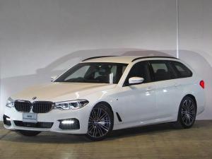 BMW 5シリーズ 523dツーリング Mスポーツ 認定中古車 ワンオーナー 禁煙車 携帯ワイヤレスチャージ ジェスチャーコントロール ヘッドアップディスプレイ インテリジェントセーフティー アダプティブLEDヘッドライト 純正HDDナビ ACC
