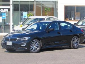 BMW 3シリーズ 330e Mスポーツ 認定中古車 弊社デモカー ワンオーナー 禁煙車 純正HDDナビ バックカメラ ETC2.0 アンビエントライト LEDヘッドライト ハーフレザー シートヒーター 障害物センサー ACC