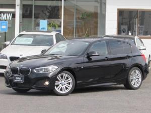 BMW 1シリーズ 118i Mスポーツ 認定中古車 純正HDDナビゲーション LEDヘッドライト ルームミラー内蔵ETC アルカンタラクロス インテリジェントセーフティー アイドリングストップ バックカメラ 障害物センサー SOSコール