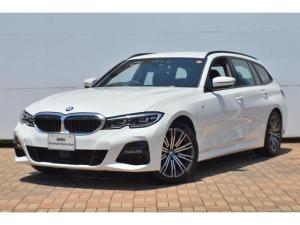 BMW 3シリーズ 320iツーリング Mスポーツ 認定中古車 ワンオーナー 禁煙車 純正HDDナビ ハーフレザー ルームミラー内蔵ETC LEDヘッドライト インテリジェントセーフティー 電動リアテールゲート バックカメラ 障害物センサー