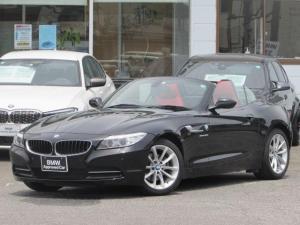 BMW Z4 sDrive20i ハイライン 認定中古車 純正HDDナビ 赤レザー シートヒーター パワーシート ルームミラー内蔵ETC 障害物センサー  キセノンヘッドライト USB AUX 純正17インチアロイホイール