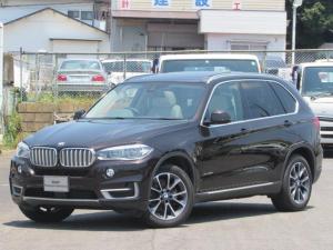 BMW X5 xDrive 35d xライン 認定中古車 パノラマガラスサンルーフ 純正HDDナビ インテリジェントセーフティー アイボリーレザー 3列シート シートヒーター シートエアコン バックカメラ 障害物センサー ソフトクローズドア