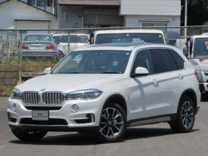 BMW X5 xDrive 40e xライン 認定中古車 弊社下取車 ガラスサンルーフ アダプティブLEDヘッドライト ヘッドアップディスプレイ ワンオーナー 禁煙車 バックカメラ 障害物センサー ソフトクローズドア モカレザー シートヒーター