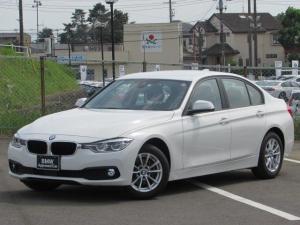 BMW 3シリーズ 320i 認定中古車 ワンオーナー 純正HDDナビ LEDヘッドライト ルームミラー内蔵ETC インテリジェントセーフティー パワーシート コンフォートアクセス バックカメラ 障害物センサー SOSコール