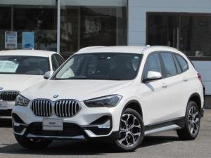 BMW X1 xDrive 18d xライン 認定中古車 弊社下取車 ワンオーナー 禁煙車 純正HDDナビ インテリジェントセーフティー 電動リアテールゲート バックカメラ 障害物センサー LEDヘッドライト コンフォートアクセス ETC