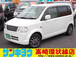 三菱 eKワゴン M 5速MT 純正CD 社外13inアルミ