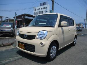 日産 モコ X FOUR バックカメラ/オートエアコン/インテリジェントキー/ドアミラーウインカー/シートヒーター