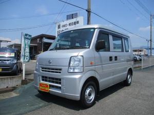 日産 NV100クリッパーバン DX 4WD/集中ロック/ハイルーフ