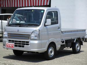 スズキ キャリイトラック KCスペシャル スズキセーフティサポート装着車 4WD 5速マニュアル ワンオーナー 禁煙車