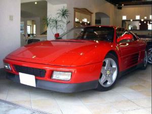 フェラーリ 348 tb D車 左H ブラックレザーシート