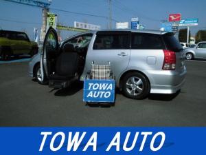 トヨタ ウィッシュ G 助手席リフトアップシート Aタイプ リモコン付 純正HDDナビ 地デジ HID