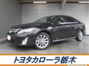 トヨタ カムリ ハイブリッド Gパッケージ・プレミアムブラック ナビ ETC