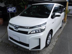 トヨタ ヴォクシー ハイブリッドX トヨタセーフティセンス ナビ TV
