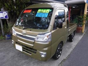 ダイハツ ハイゼットトラック ジャンボSAIIIt 4WD 4速オートマ LEDヘッドライト キーレス AC PS 届出済未使用車