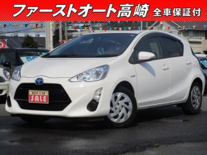 トヨタ アクア S 後期型 ETC付 保証1年付
