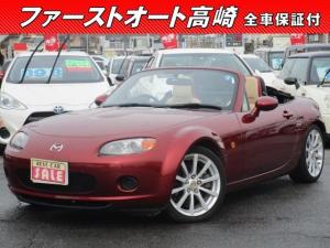 マツダ ロードスター RS 6速 革シート 保証1年付