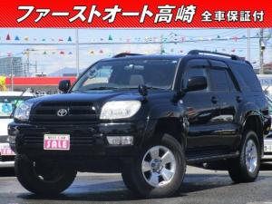 トヨタ ハイラックスサーフ SSR-G サンルーフ ナビBカメラ 保証1年付