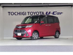 トヨタ タンク カスタムG S 両側電動スライドドア 純正アルミ スマートキー