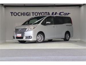 トヨタ エスクァイア Gi 純正9インチナビ バックモニター フルセグ ETC 両側電動スライドドア 純正アルミ LEDライト シートヒーター スマートキー ワンオーナー車