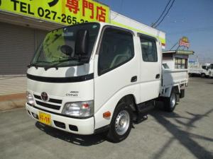 トヨタ ダイナトラック 1t Wキャブ シングルジャストロー 4WD オートマ車 全席パワーウインドー フルタイム4WD