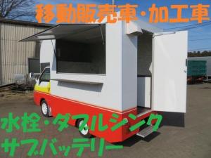 マツダ ボンゴトラック  新規架装キッチンカー移動販売車