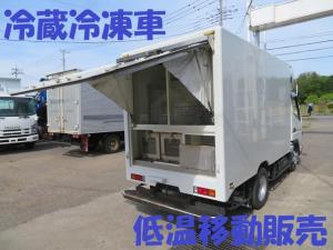 三菱ふそう キャンター  マイナス5・マイナス30冷蔵冷凍車 移動販売車 鮮魚