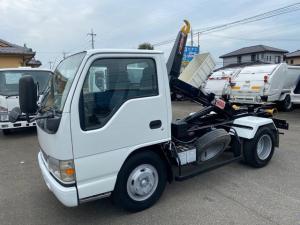 いすゞ エルフトラック  脱着装置付コンテナ専用車 ヒアブ マルチリフト