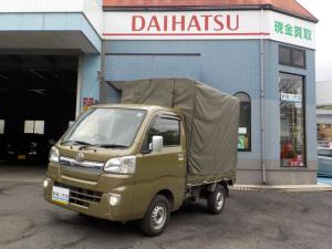 ダイハツ ハイゼットトラック エクストラ幌車 キーレス CD ETC フォグライト 保証付